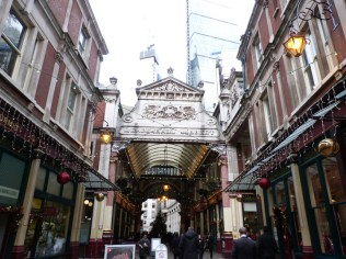 Leadenhall market, Londres